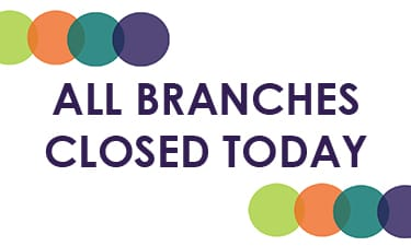 Branches Closed