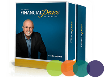 Dave Ramsey's Financial Peace Leadership Kit boxes